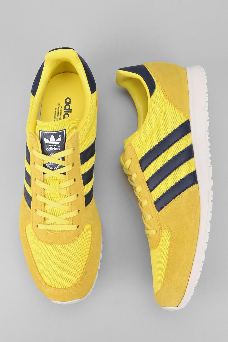 the latest 6f374 c1071 I have a thing for yellow sneakers... Adidas adiSTAR Racer Sneaker Shoes  Sneakers