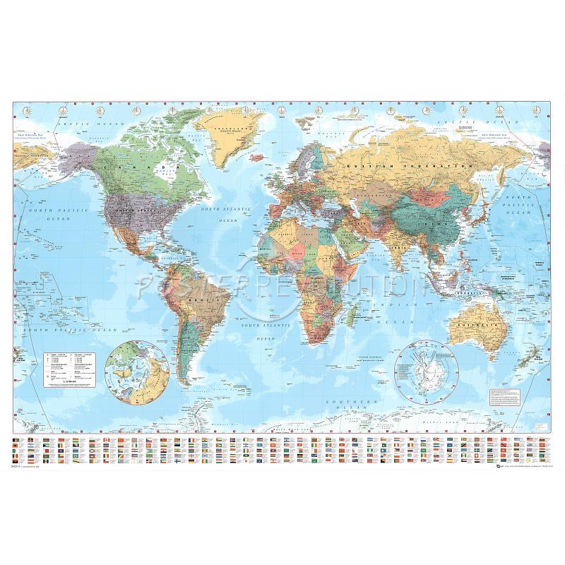 World map flags at bottom art poster print 36x24 for the sunroom world map flags at bottom art poster print 36x24 for the sunroom gumiabroncs Images