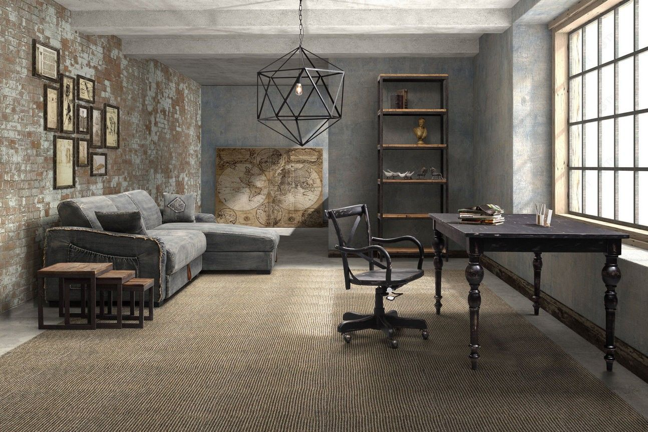 Outstanding Industrial Living Room 11 Plans Free Phenomenal Design