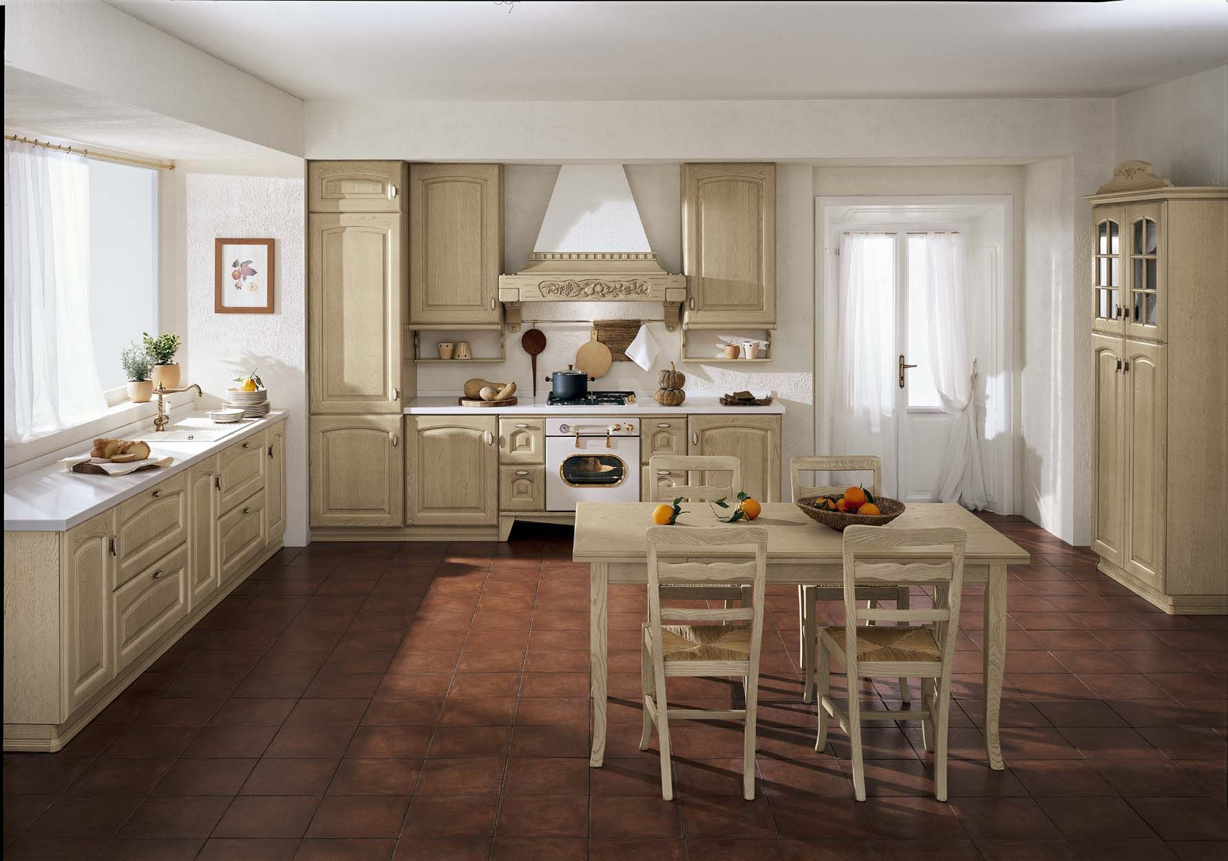 french country kitchen table design ideas from Home Depot Paint For ...