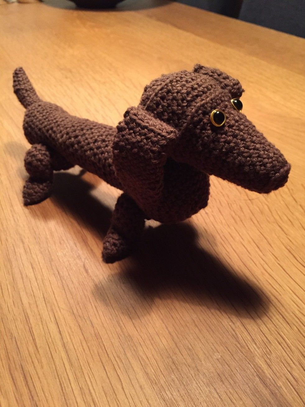 Seriøst Kaj Bojesen – Hund | Crochet Design | Crochet Animals, Crochet EW-73