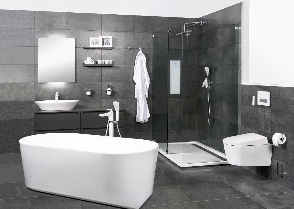 kludi balance white badkamer met kludi amba accessoires en. Black Bedroom Furniture Sets. Home Design Ideas