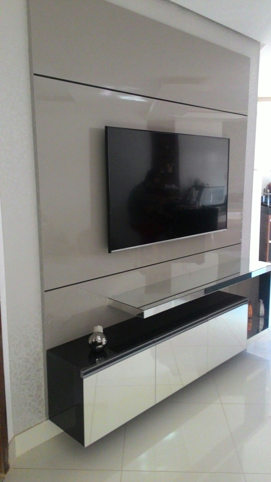Led Tv Panels Designs For Living Room And Bedrooms: Pin By Custowood Interior Design On LED Panels