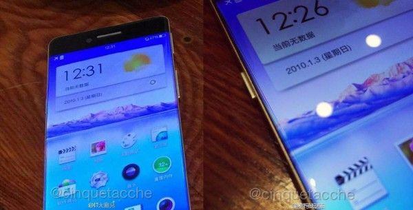 #Oppo lanserer en mobil som har ingen rammer #OppoR7