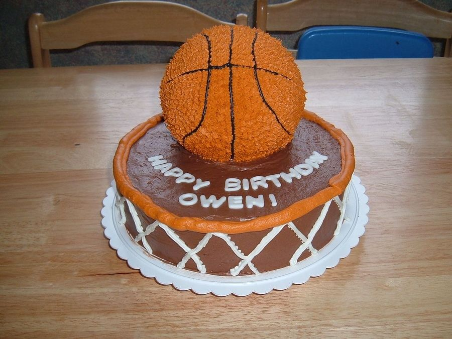 Super Basketball Birthday Cake Basketball Birthday Cake Basketball Funny Birthday Cards Online Unhofree Goldxyz