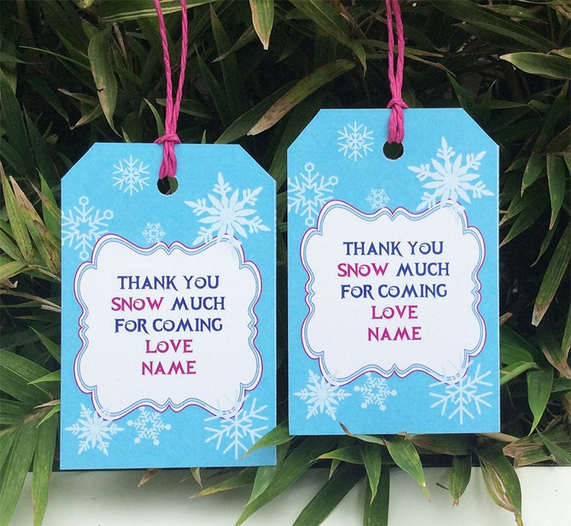 Frozen Birthday Party Printable Templates | Frozen birthday party ...