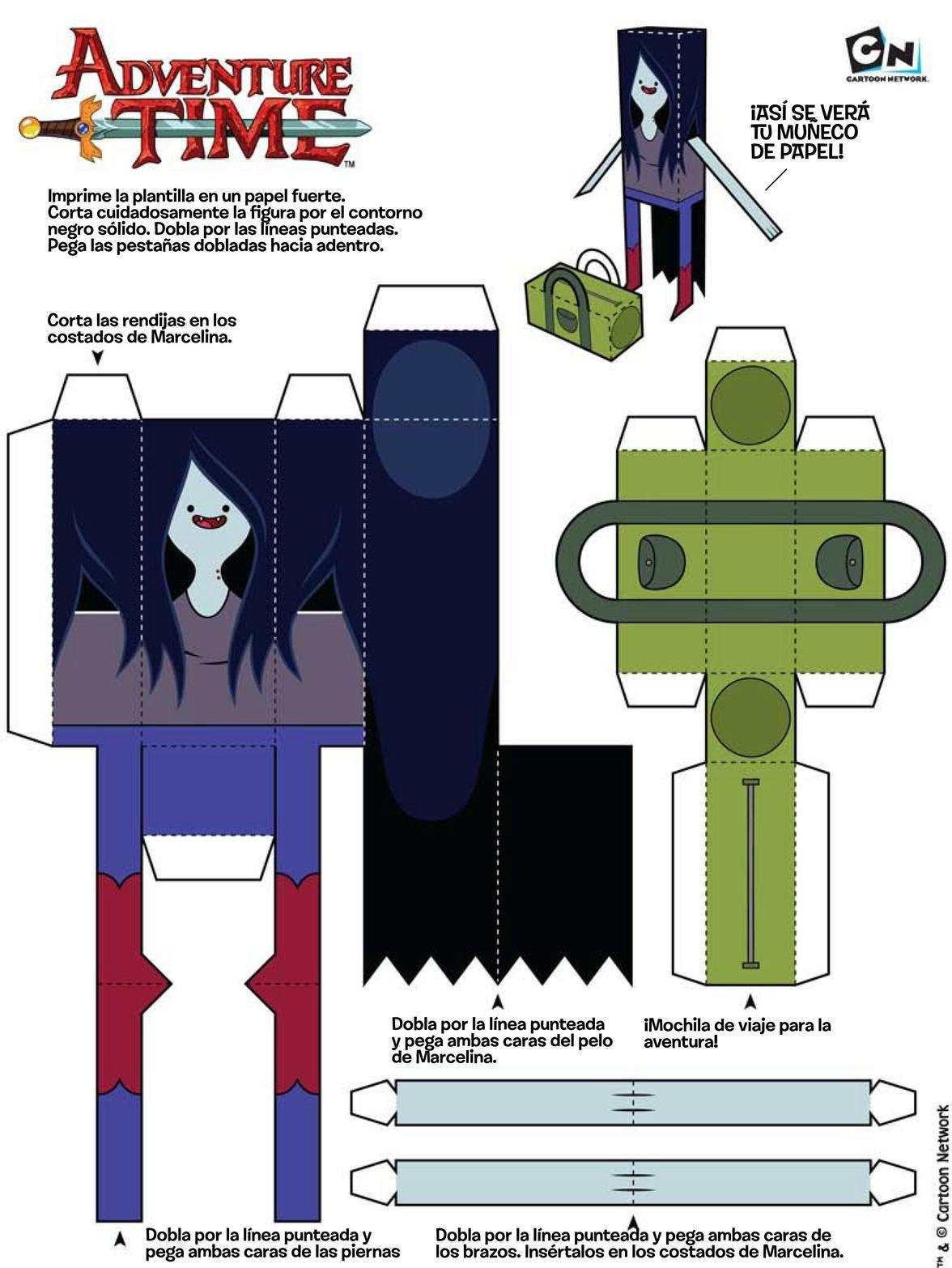 5 Papercraft hora de aventura! | Cubeecraft & Papercraft | Pinterest ...