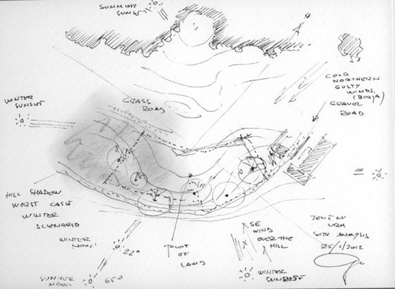 Site Analysis Sketch