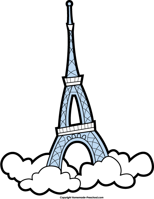 free eiffel tower clipart ideas for kids pinterest tower rh pinterest co uk eiffel tower clip art black and white eiffel tower clip art large