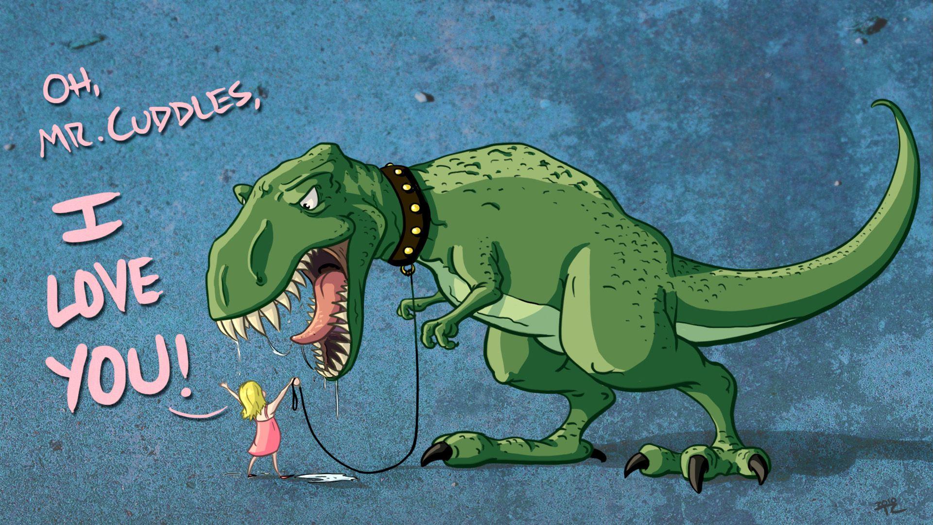 Mr Cuddles Desktop Dinosaur Wallpaper Http Www Dinopit Com Dinosaur Funny Dinosaur Wallpaper Cute Dinosaur
