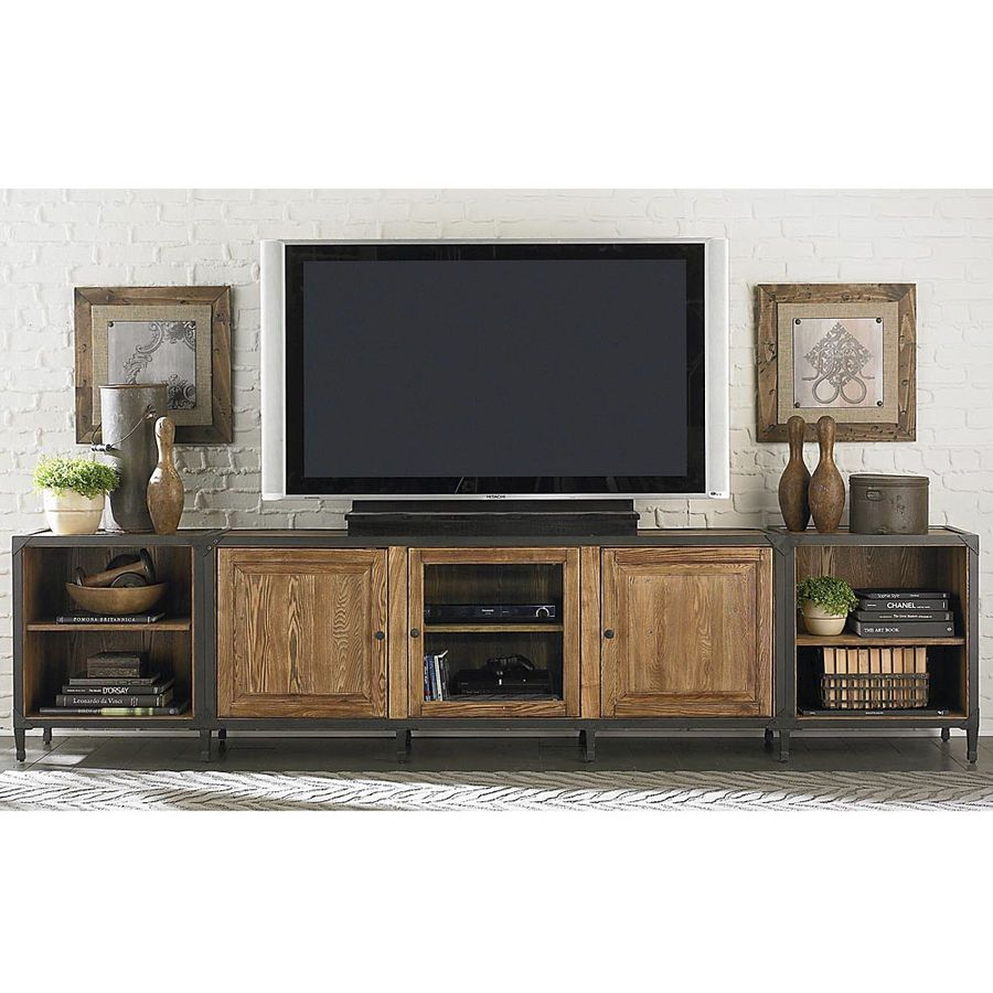 Take Doors Off Our Tv Cabinet When You Get Bored With Look Home Furniture Diy Industrial Furniture