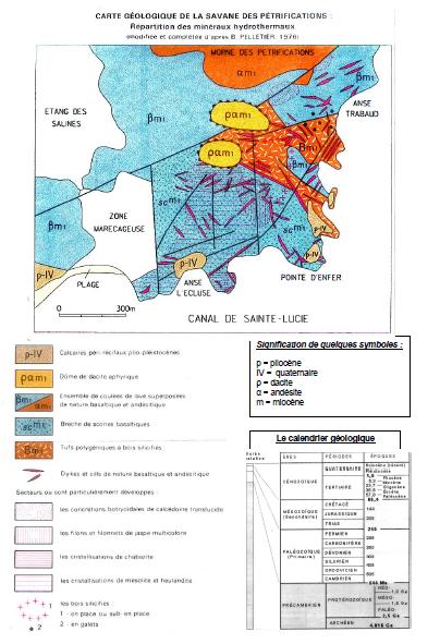 Extrait de carte géologique (BRGM)