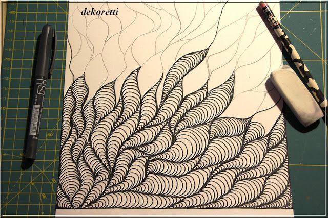 einfach mal wieder zeichnen und malen doodle painting zendoodle pinterest zeichnen. Black Bedroom Furniture Sets. Home Design Ideas