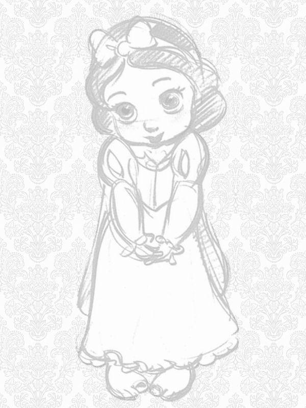 Disney Store Animators' Collection Snow white Pillow New