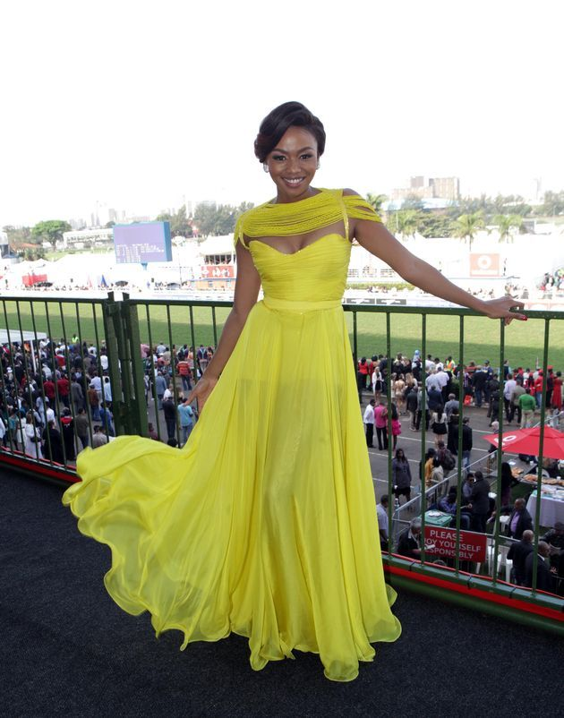 Gert johan coetzee dresses designed for bonang