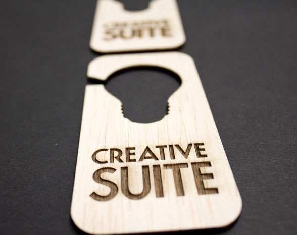 Most Creative Door Hangers  Google Search  Hotel Branding