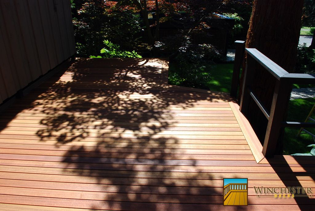 Stain for your deck follow link.  Myth Number 1 - Pressure treated wood needs to breathe for at least three months before it is stained.  Myth Number 2 - New wood is ready to be stained.  Myth Number 3 - You have to use an oil stain to get the best finish.