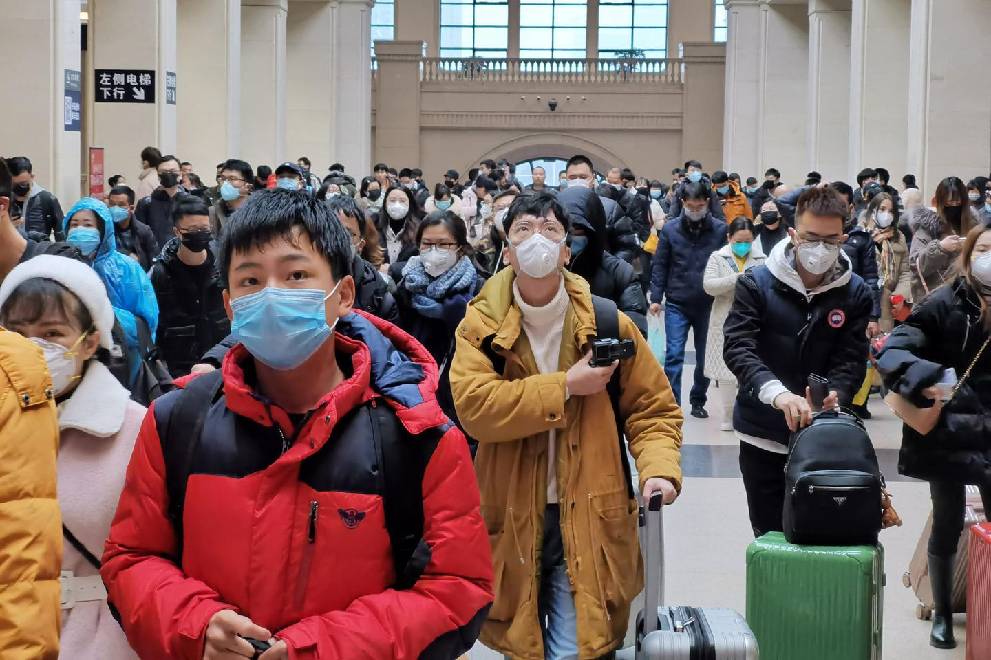 Here's how the unprecedented quarantine of one of China's
