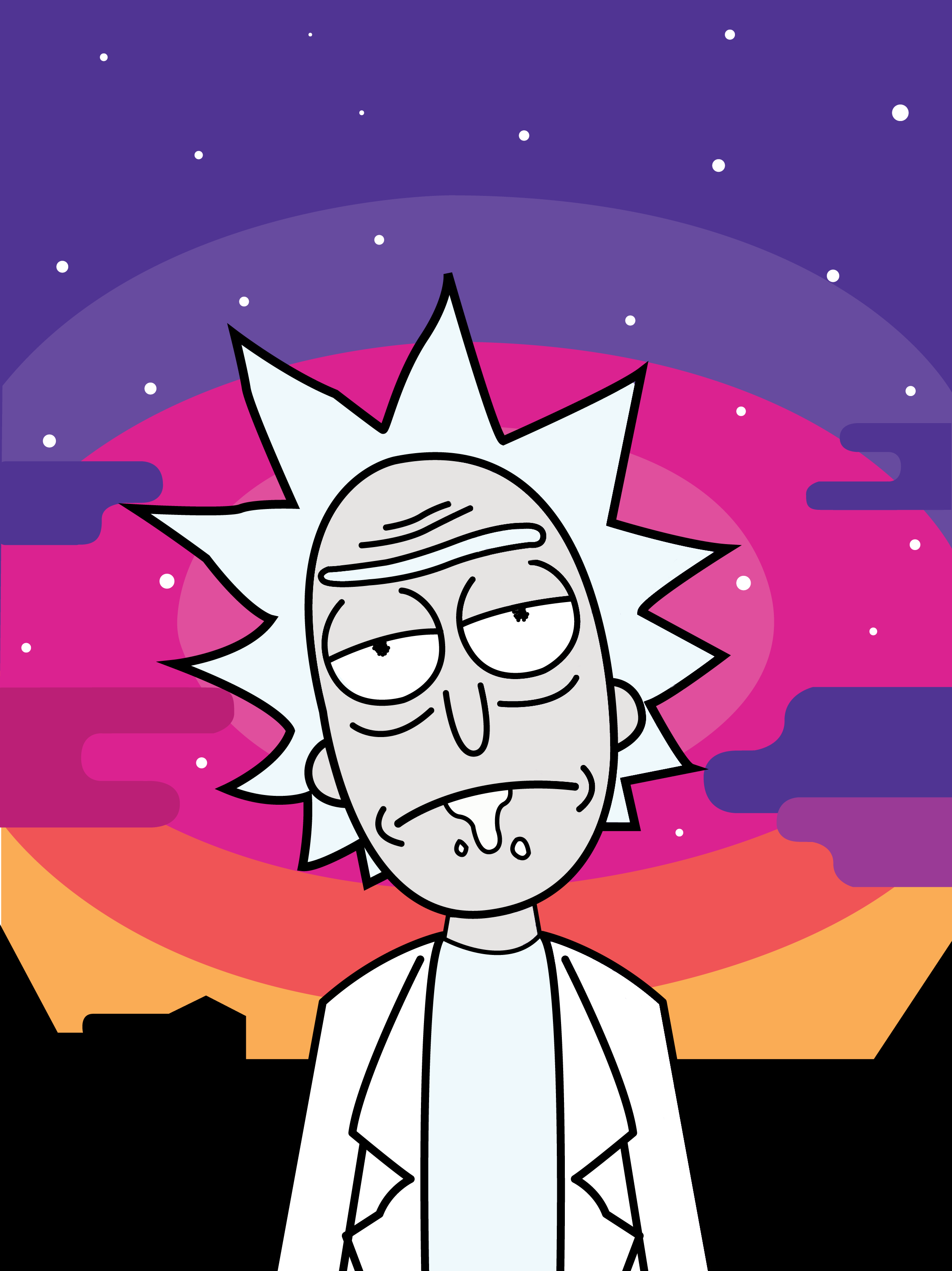 Rick Phone Wallpaper 1080x1920 Papel de parede animado
