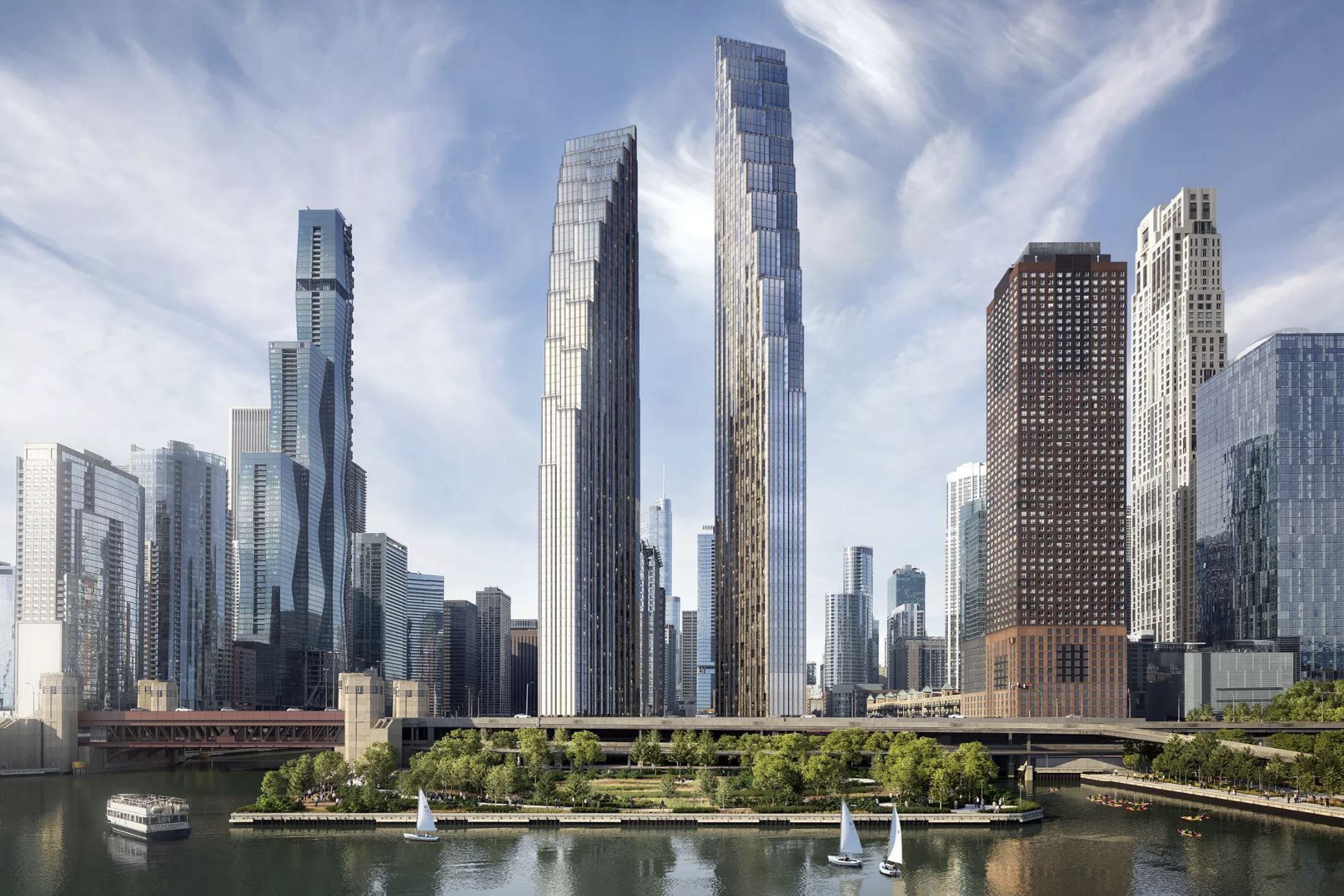 Both the Zoning Ordinance Administration and City Council have approved the updated plans for the development at 400 N Lake Shore Drive in Streeterville.