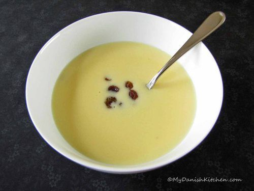 Kaernemaelksuppe Warm Buttermilk Soup Recipe In English From My Danish Kitchen Nordic Recipe Danish Food Scandinavian Food