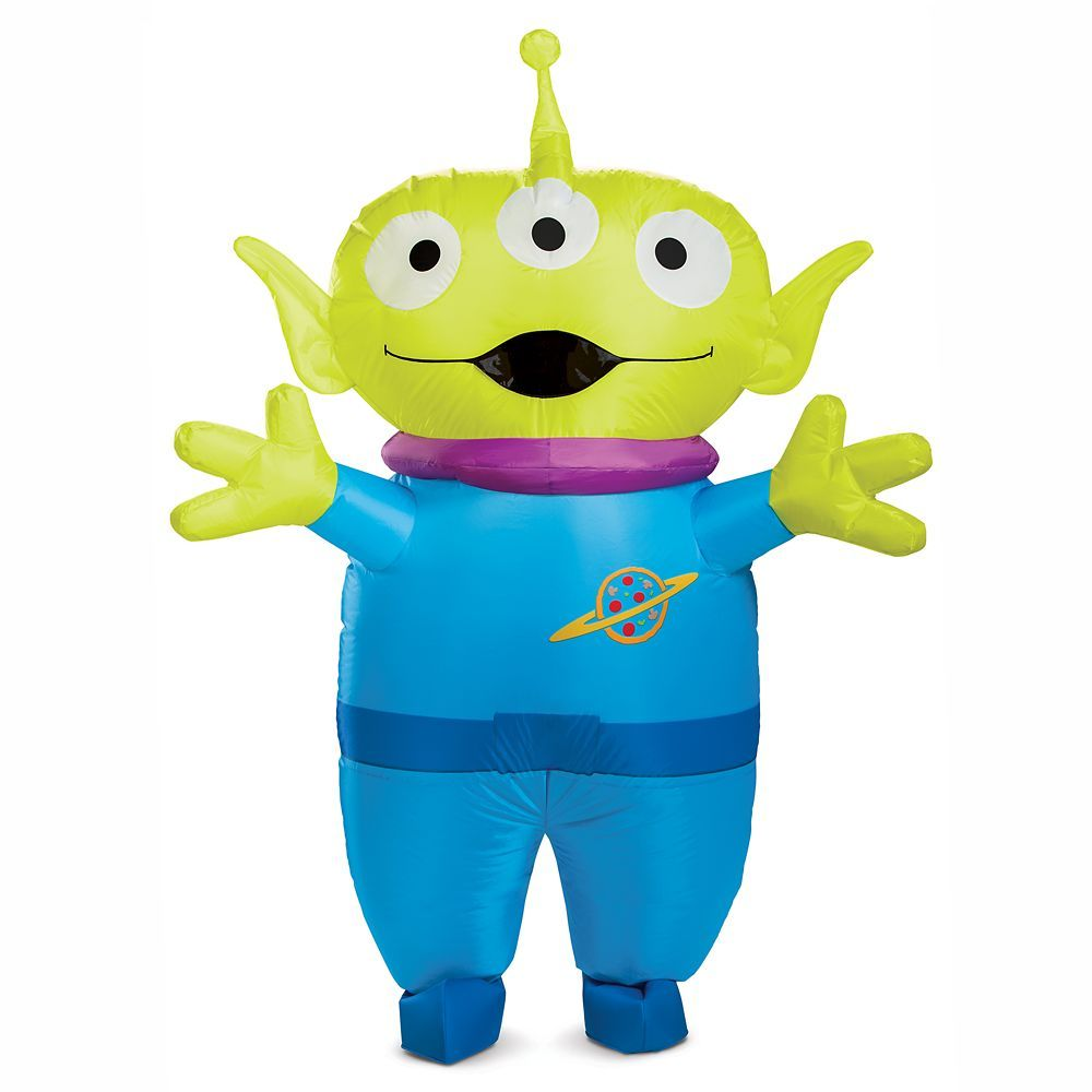 Toy Story Alien Inflatable Costume For Adults By Disguise In 2020