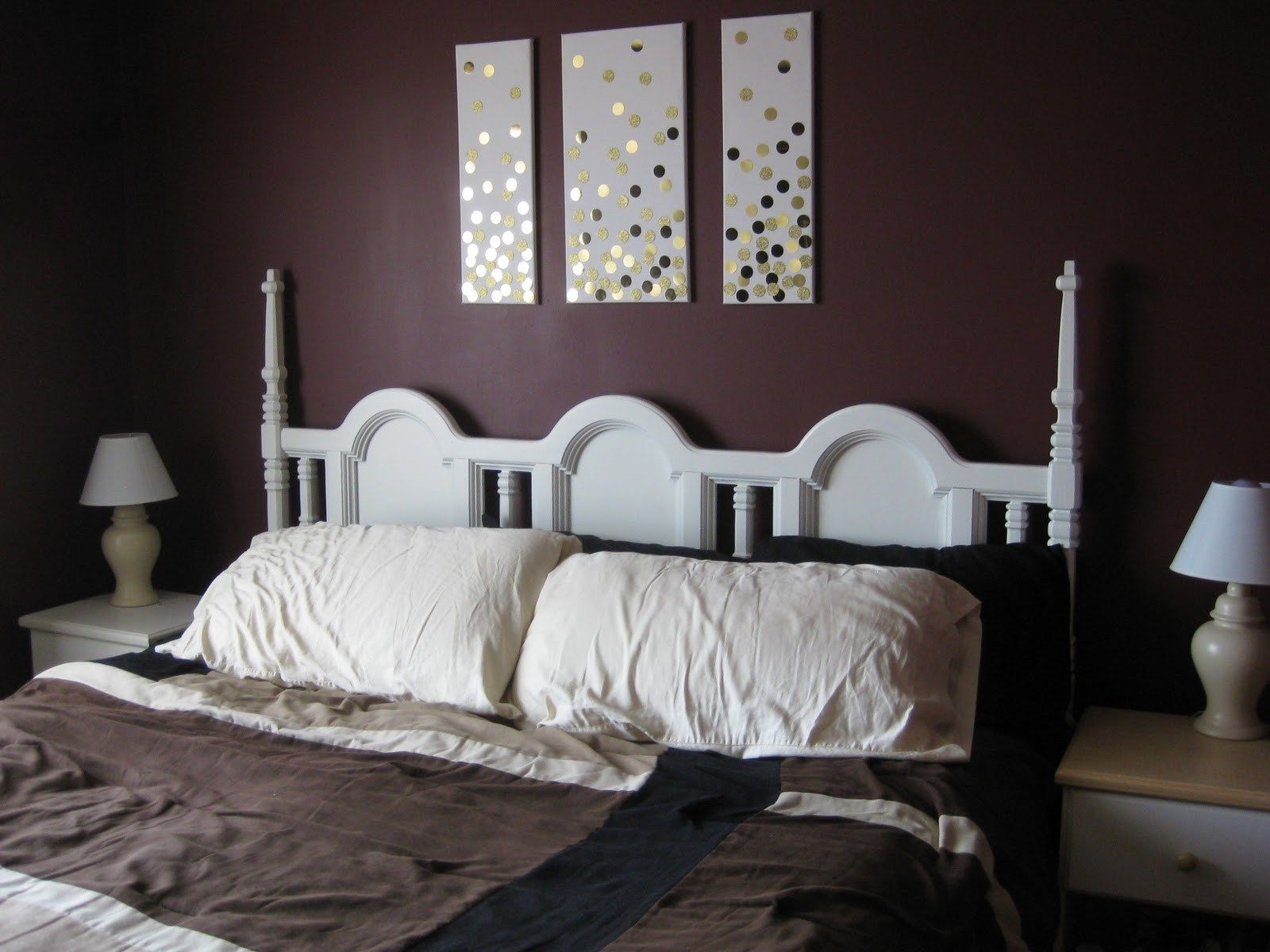 How to start your own blog hop Headboard makeover