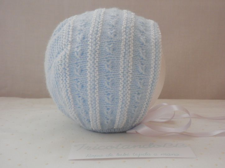 capota en azul y blanco de bodoques