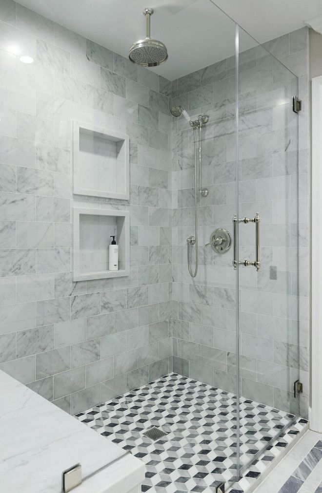 Shower Wall And Floor Tile Ideas Combination Of Wall And Floor