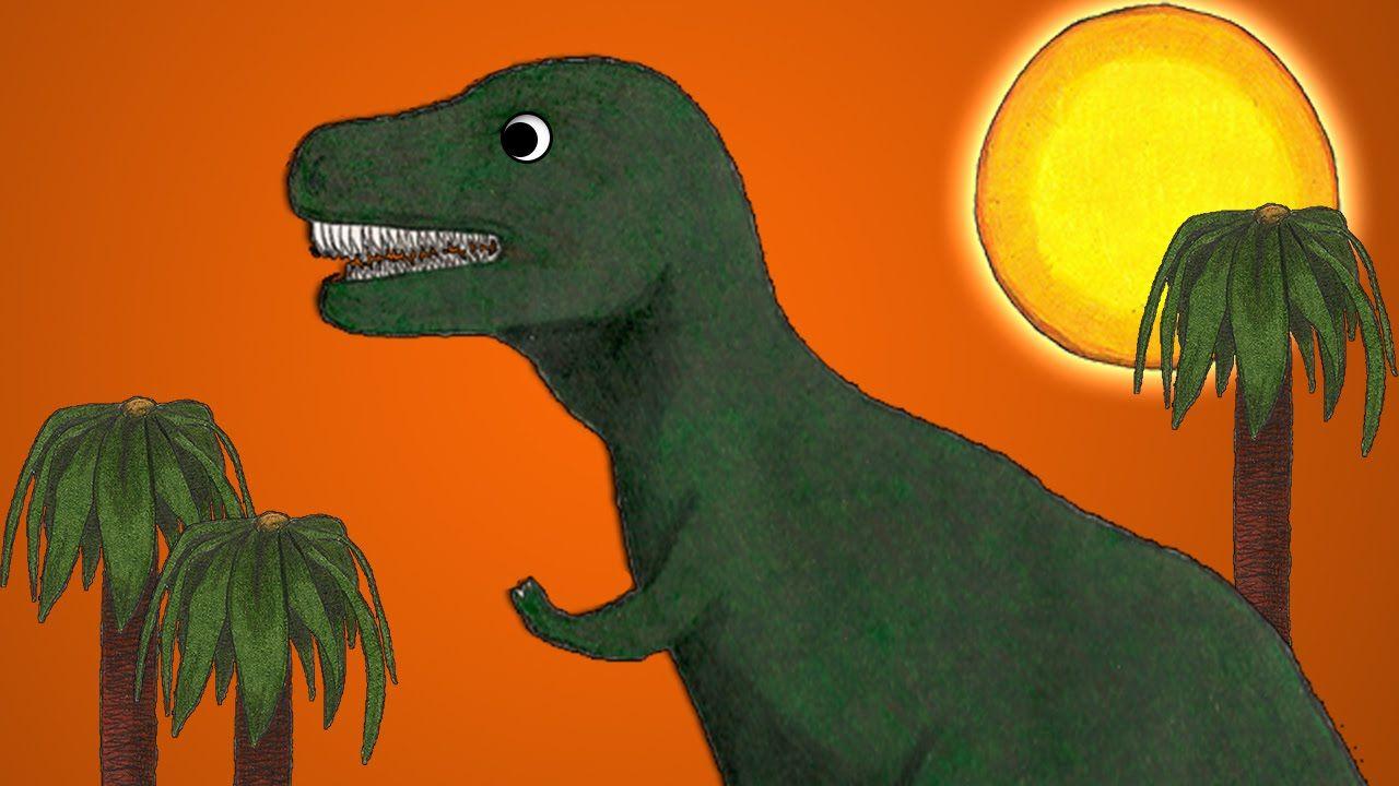T-Rex Song - Dinosaur Song for Kids about Tyrannosaurus Rex