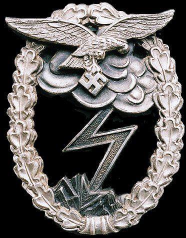 The Luftwaffe Ground Assault Badge Luftwaffe Badge Luftwaffe