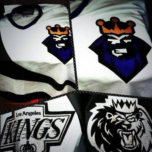 huge selection of 45e94 4eb2c Manchester Monarchs to honor LA Kings, wear infamous Burger ...