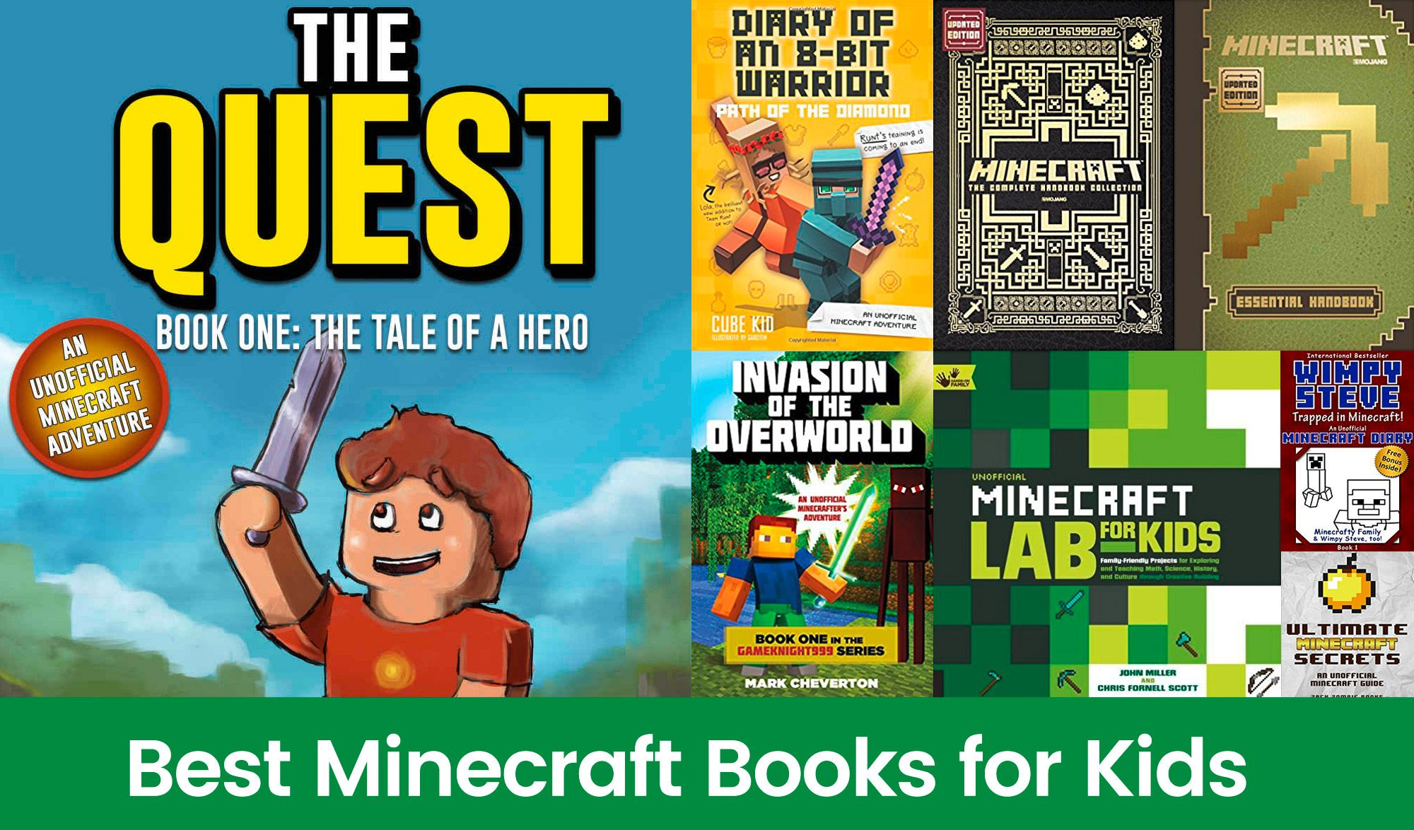 Best Minecraft Books for Kids Tech Toys for Kids
