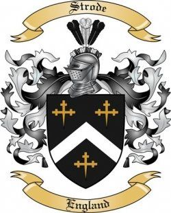 Strode coat of arms | Climbing the Family Tree | Family