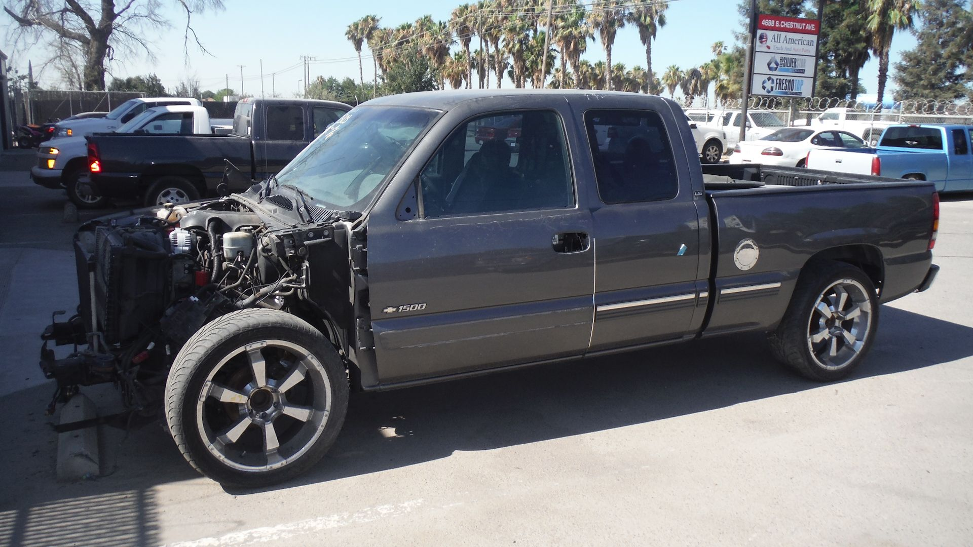 2001 chevy silverado 1500 ls extended cab short bed 2wd 4 8l with unknown miles