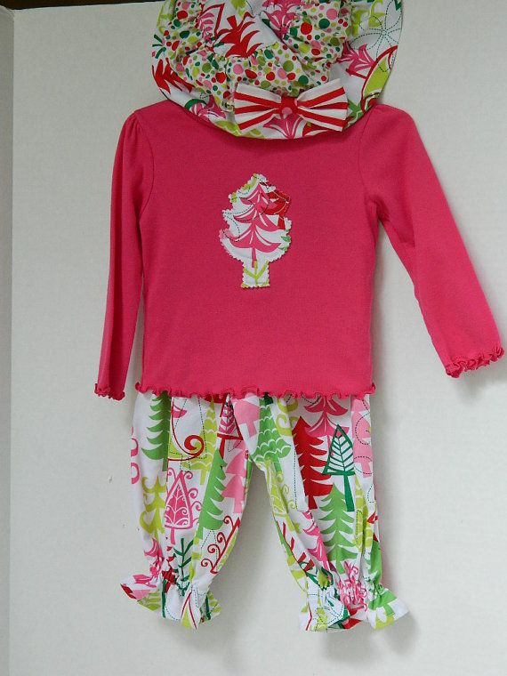 Girls' Christmas Outfit Size 18 Month Toddler by lynnedowns - Girls' Christmas Outfit Size 18 Month Toddler By Lynnedowns Girl's