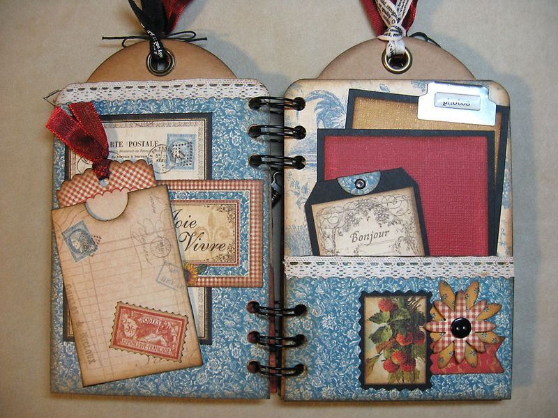 French-Country-Mini-Album-Graphic45-Annette-Green-3-of-5