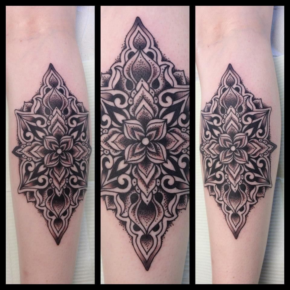 Mandala tattoo on pinterest lotus mandala tattoo lotus mandala - Black Lotus Mandala Tattoo 20 Best Tattoos Of The Week Aug 21th To Aug