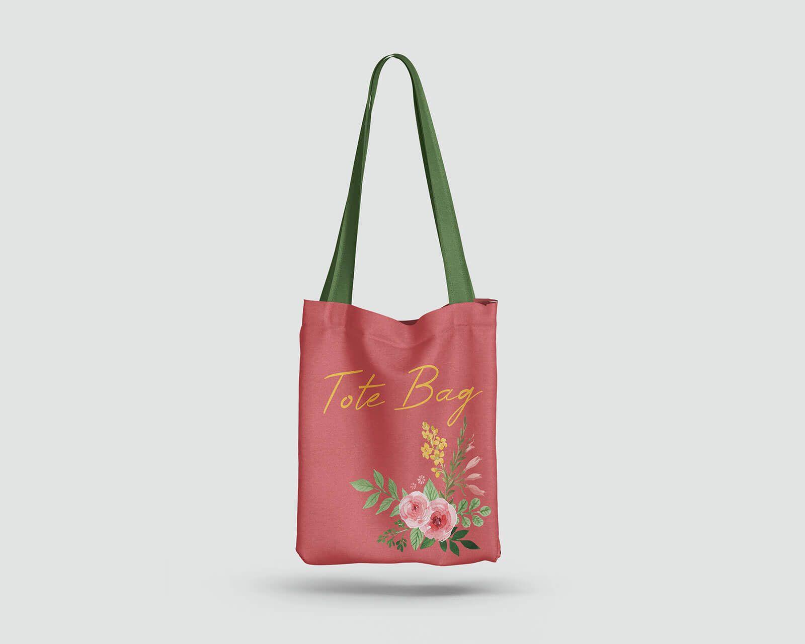 Download Tote Cloth Shopping Bag Mockup 2 Psd Set Bag Mockup Shopping Bag Design Bags