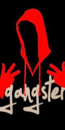 Gangster W Silhouette W Red Hands Hood Plywood Wood Print Poster Wall Art Poster Prints Gangster Wood Print