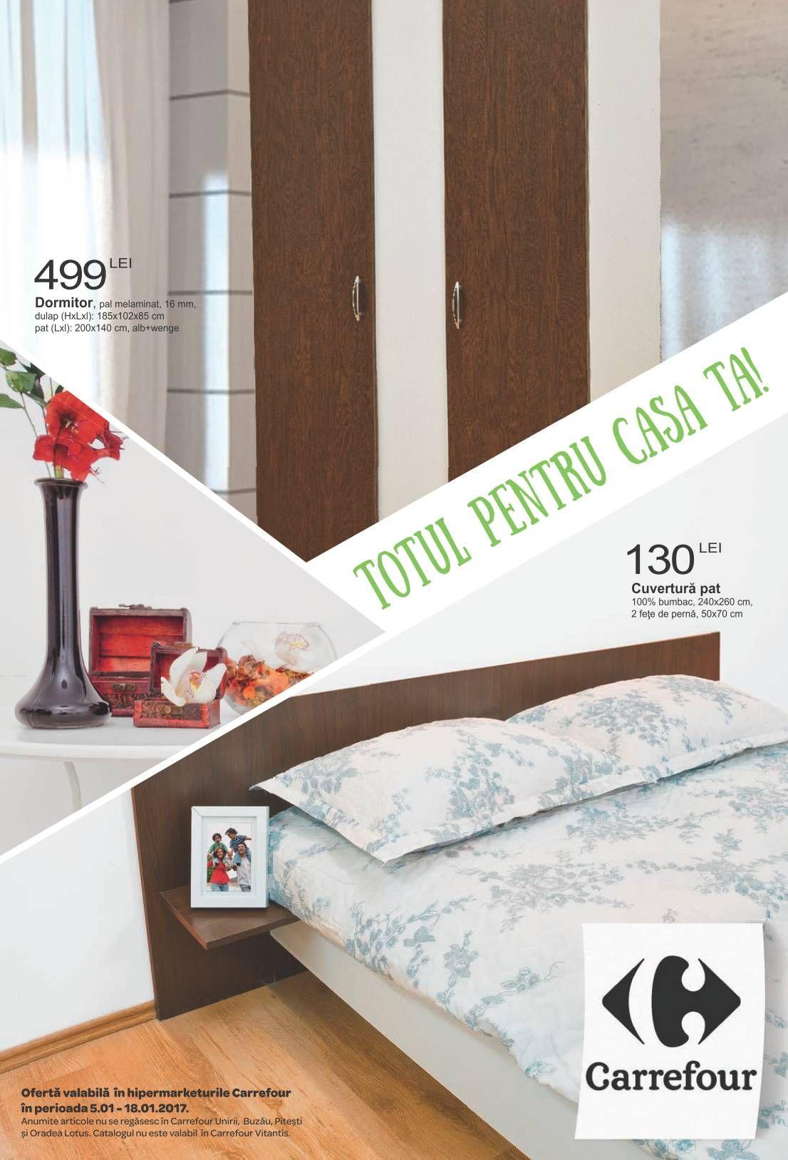 Catalog Carrefour Totul pentru casa ta Ianuarie 2017   Design si