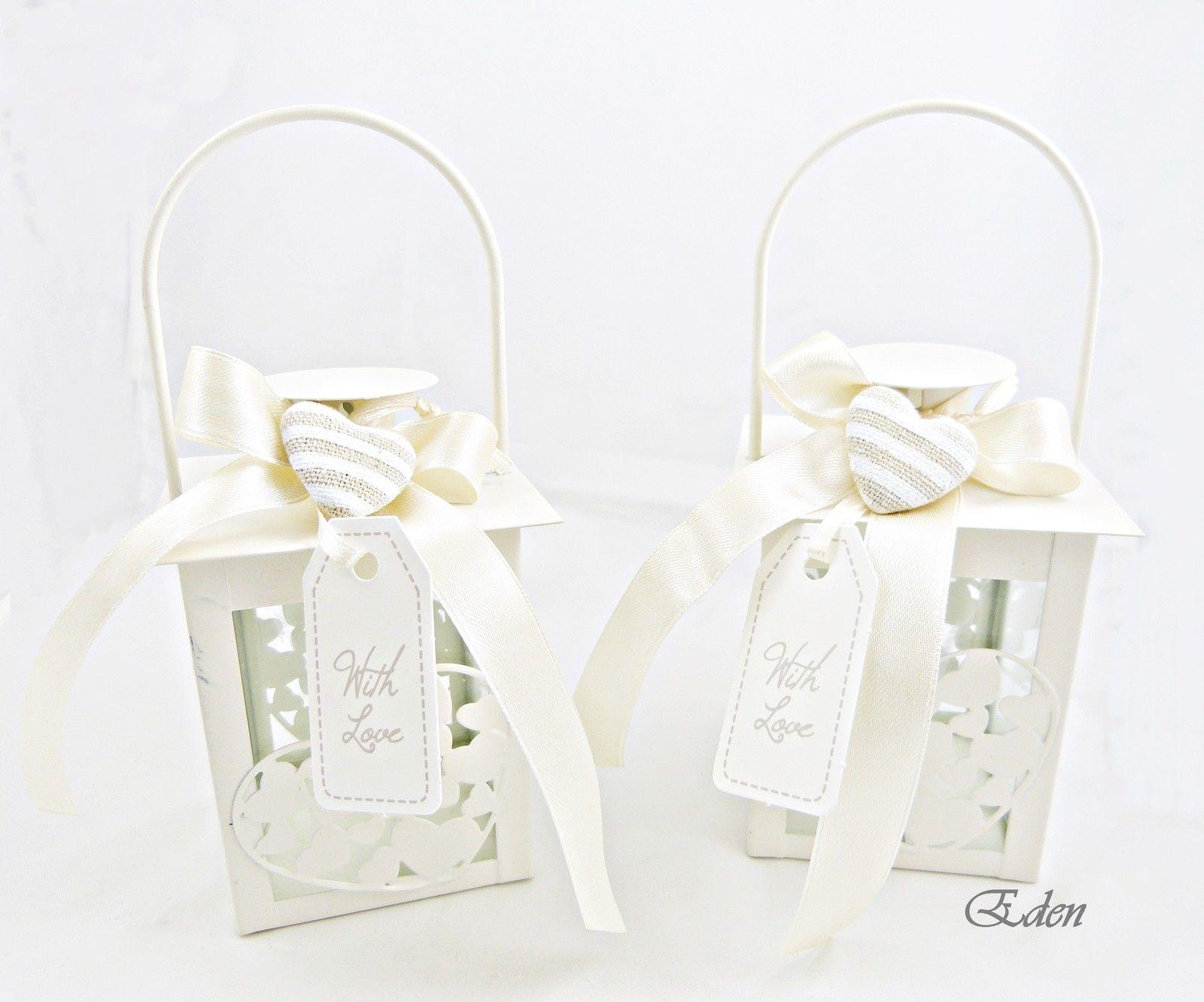 Bomboniera lanterna metallo portaconfetti matrimonio for Bricolage arredamento