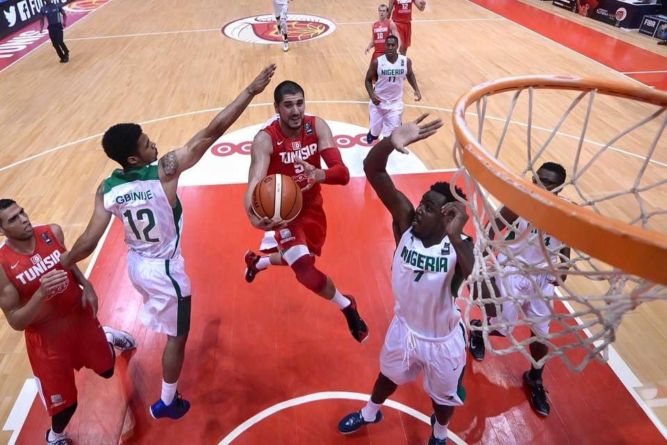 Tunisia Vs Nigeria Tunisia Nigeria Basketball Court