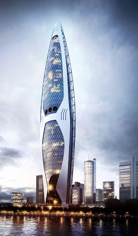 Sustainable Skyscraper by Kajmowicz Robert