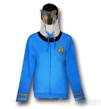 Star Trek Spock Women's Costume Hoodie