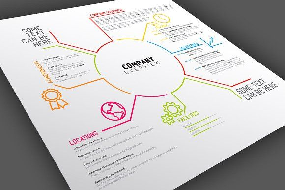 Company Overview Template Design | Infographic templates, Template ...
