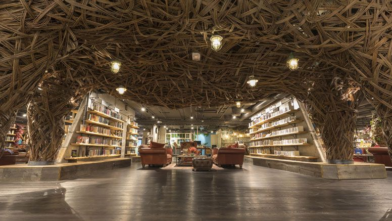 Oslo's Stovner district received a new social space in the form of a new  library, but it's no ordinary library… | Public library design, Library,  Library design