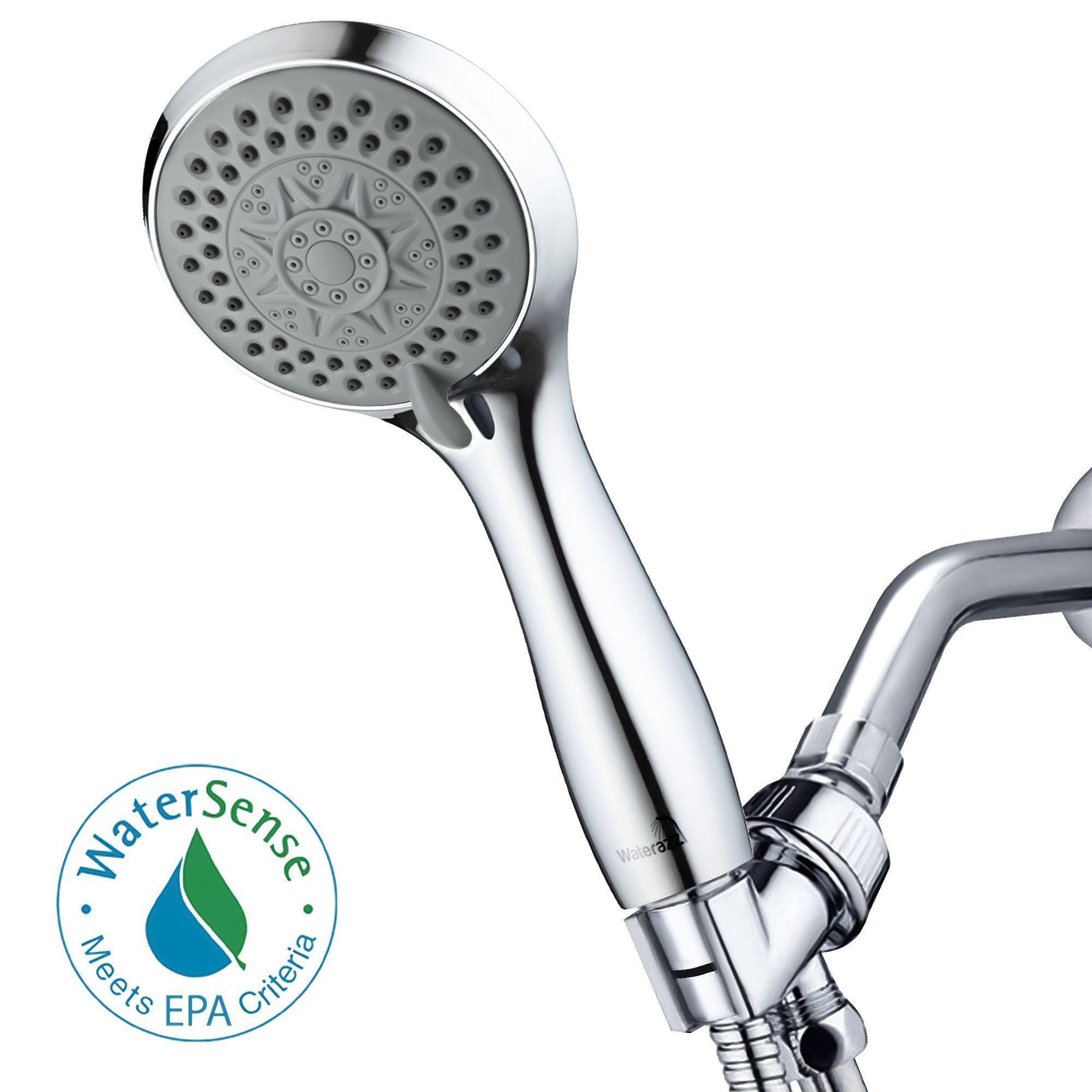 High Pressure Handheld Shower Head - Luxury Hand Showerhead with ...