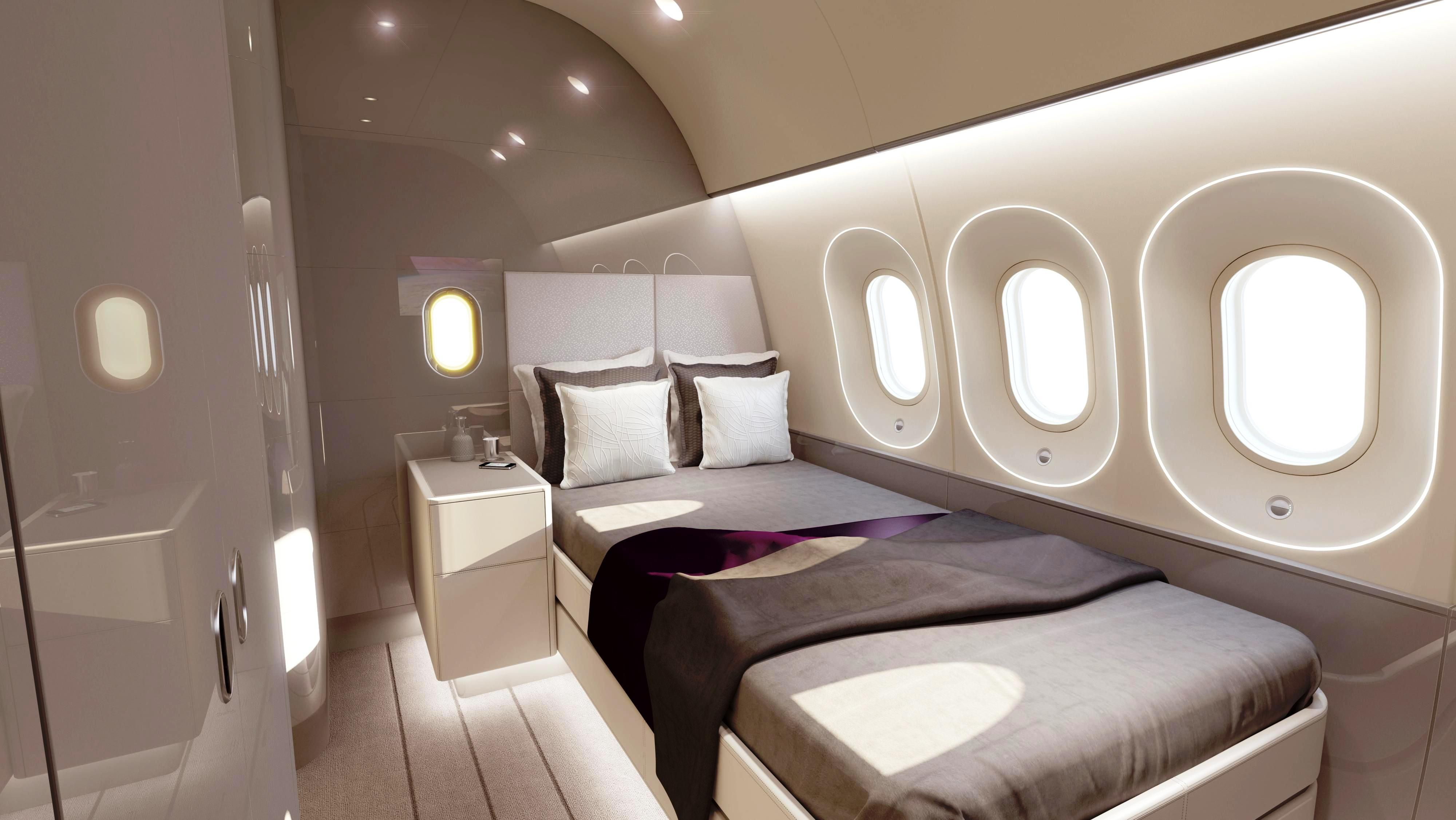 15 airplane and airport hotel room inspired bedroom designs rilane we aspire to inspire - Masterschlafzimmerdesignplne