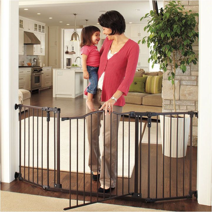 NORTH STATES North States Supergate Deluxe Dcor Gate